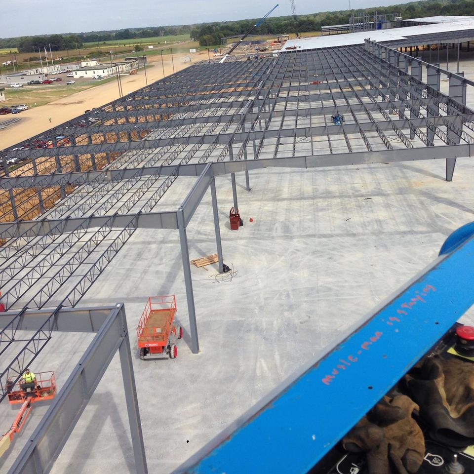 STRUCTURAL STEEL ERECTION – Smith Erectors